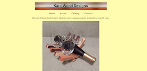 Kara Wood Designs home page